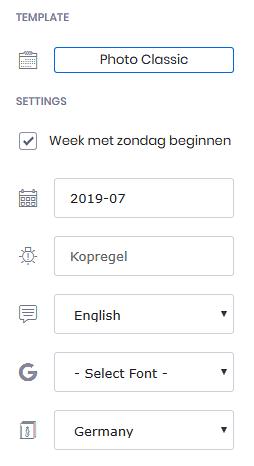 Extreem Kalender maken - Webwijzer #AK16