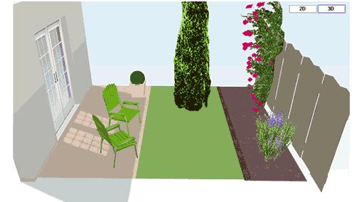 Online tuin ontwerpen webwijzer for Tuin tekenen app